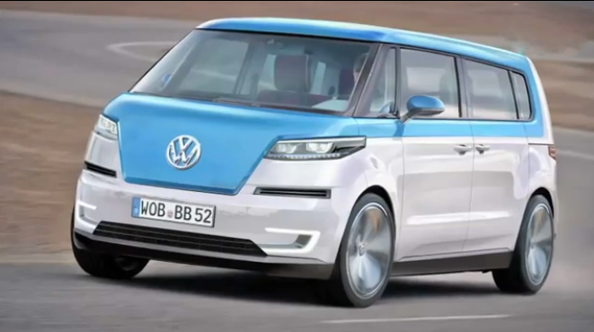 Este es, supuestamente, el aspecto de la nueva Volkswagen Bulli