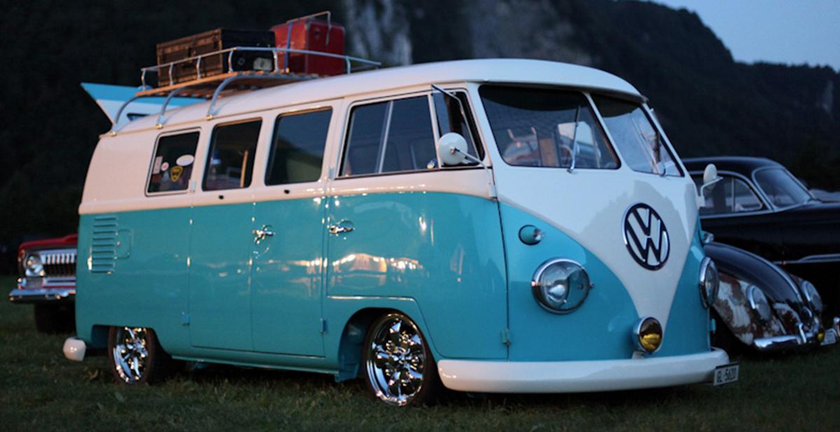 volkswagen furgoneta surfera de los 60