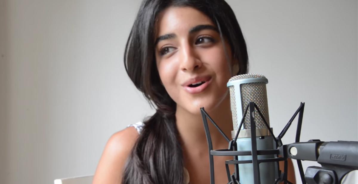 Luciana Zogbi, la chica que se parece a la princesa disney jasmine y que canta como los angeles