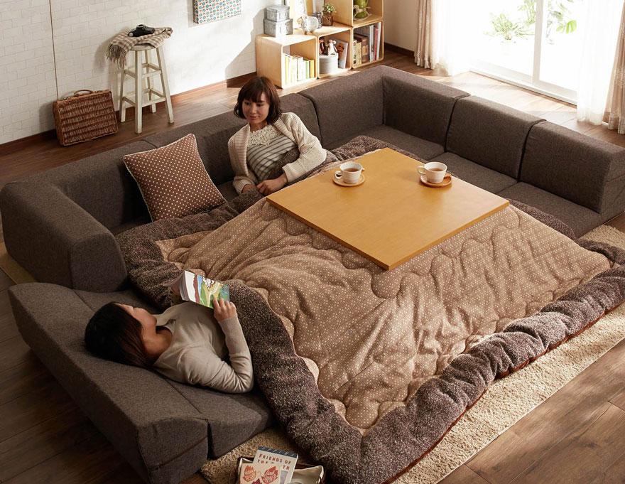 cama calefaccion japonesa 2