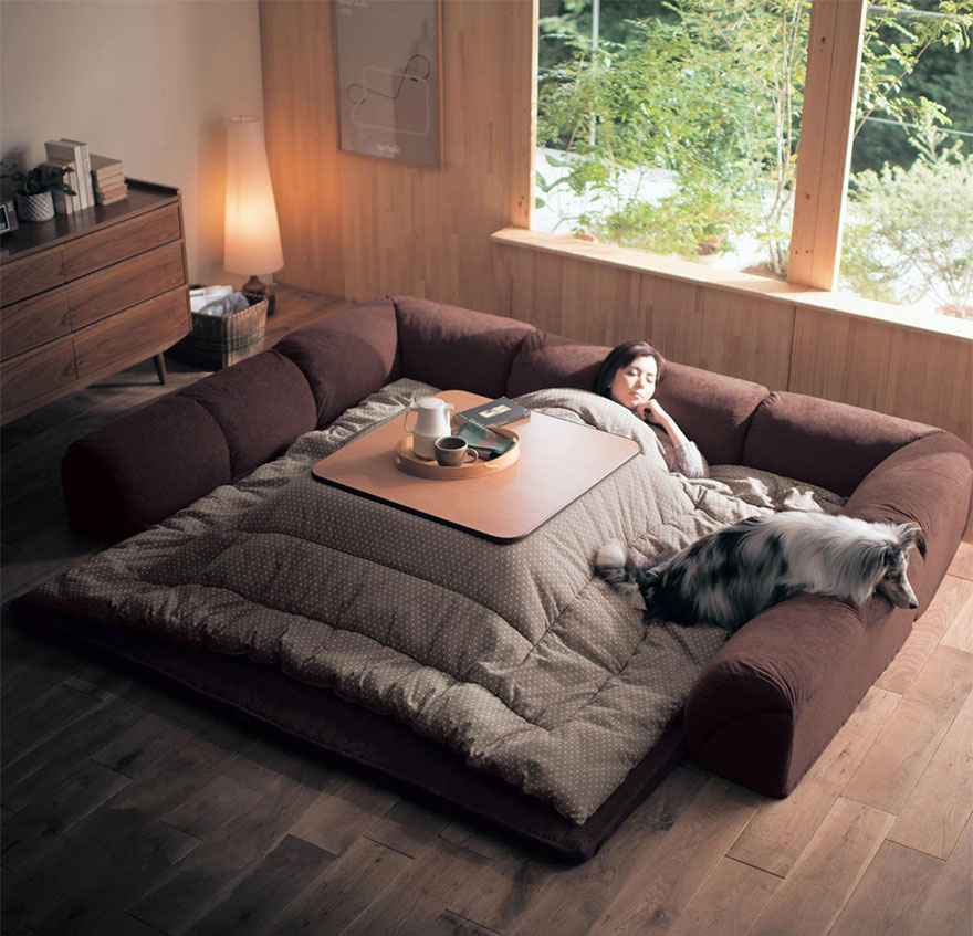 cama calefaccion japonesa 5