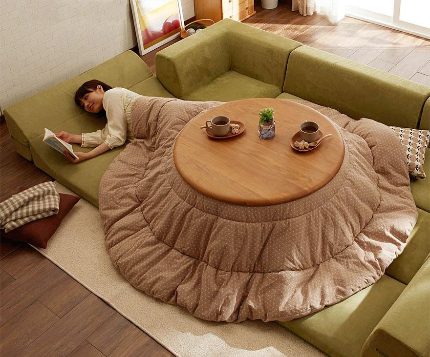 cama calefaccion japonesa 6