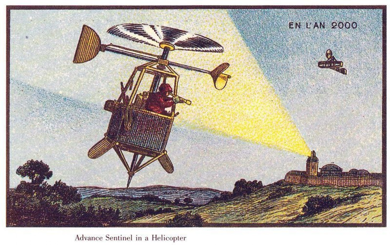 como imaginaban el futuro en 1900 ilustraciones 10