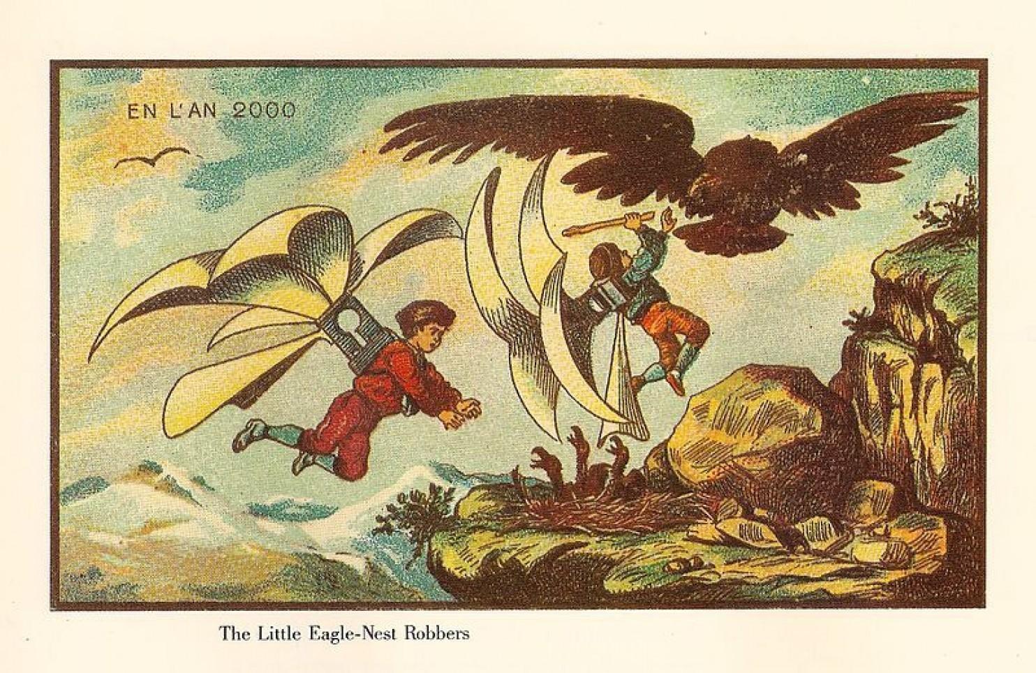 como imaginaban el futuro en 1900 ilustraciones 16