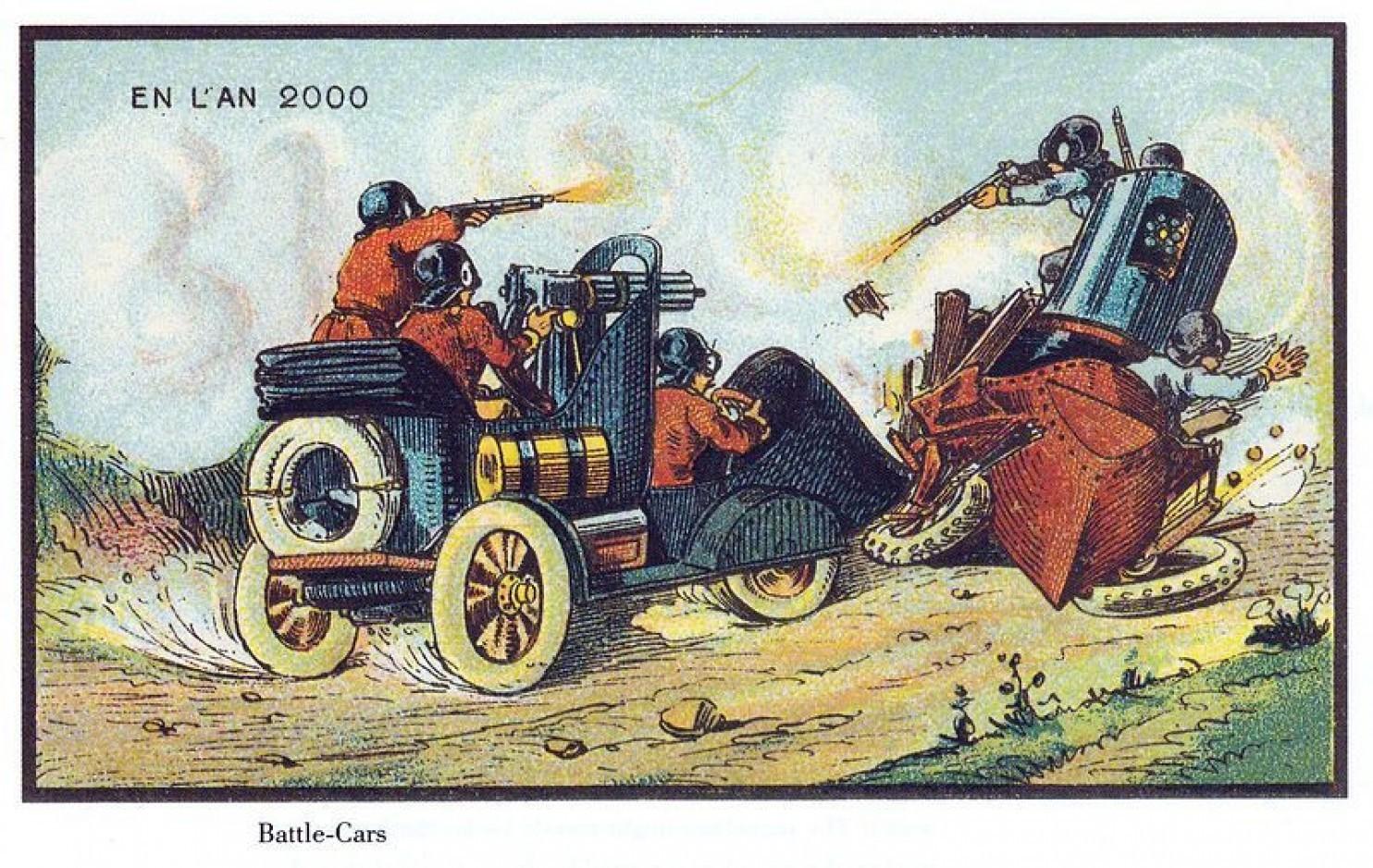 como imaginaban el futuro en 1900 ilustraciones 18
