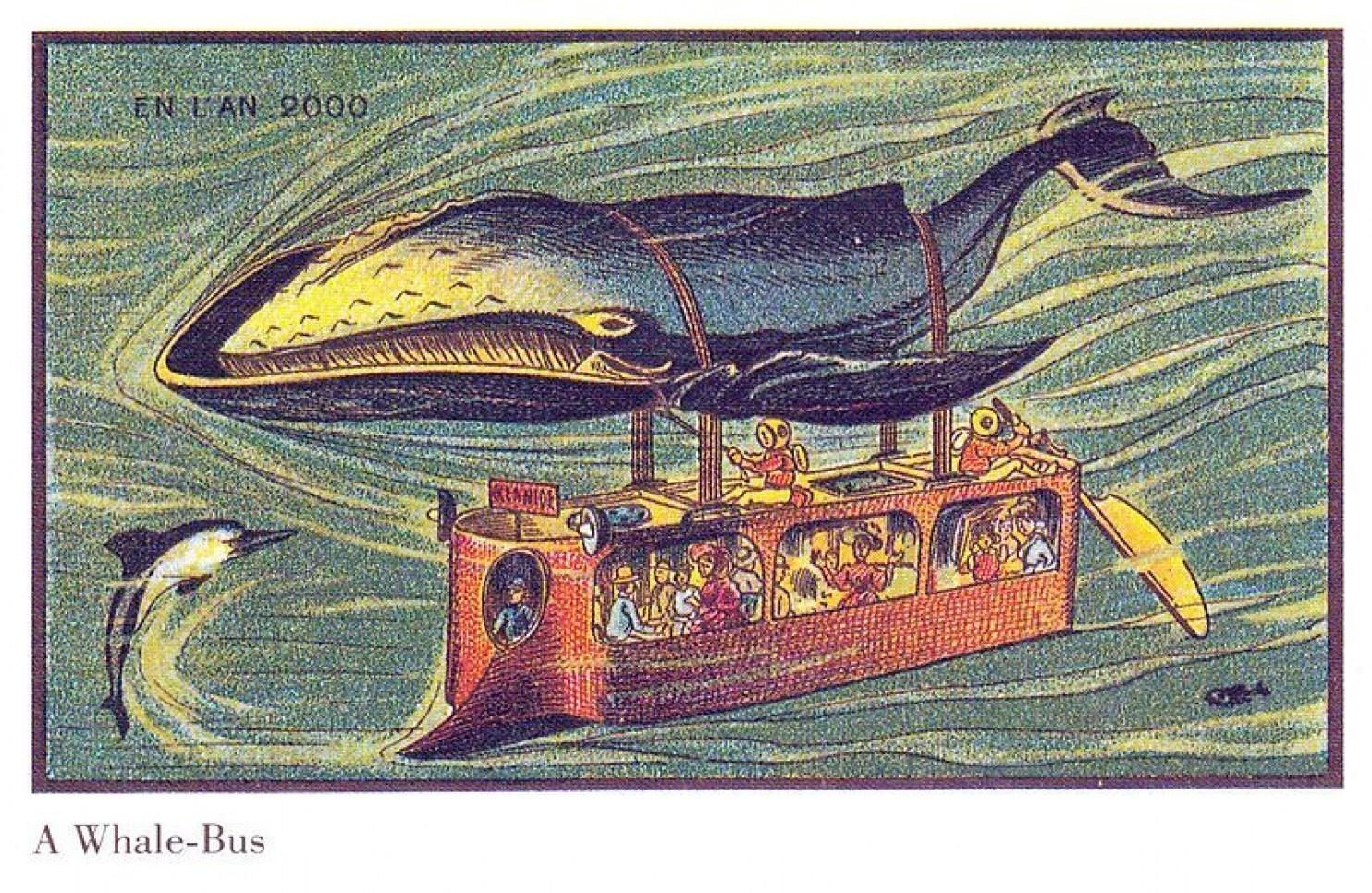 como imaginaban el futuro en 1900 ilustraciones 23