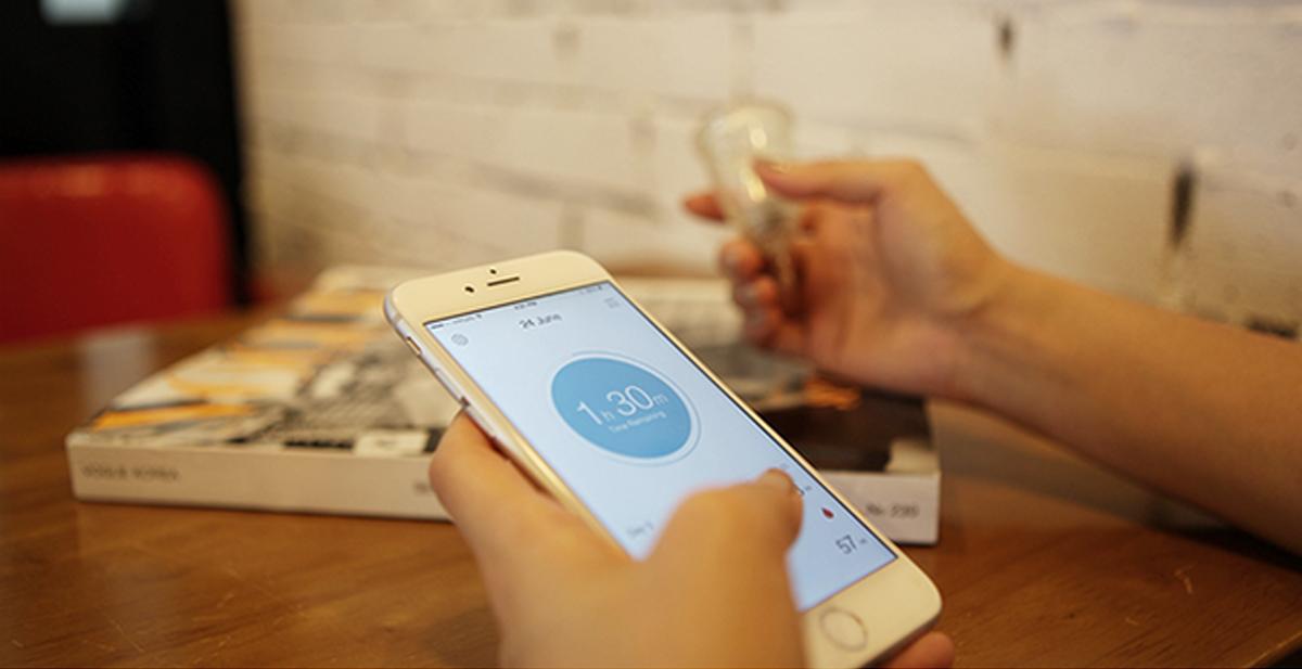 el tampón inteligente que se comunica con tu smartphone