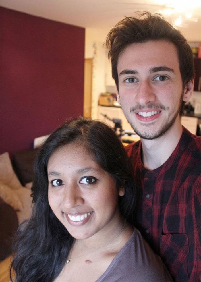 fotos selfie de un chico transgenero que documenta su cambio de mujer a hombre 19