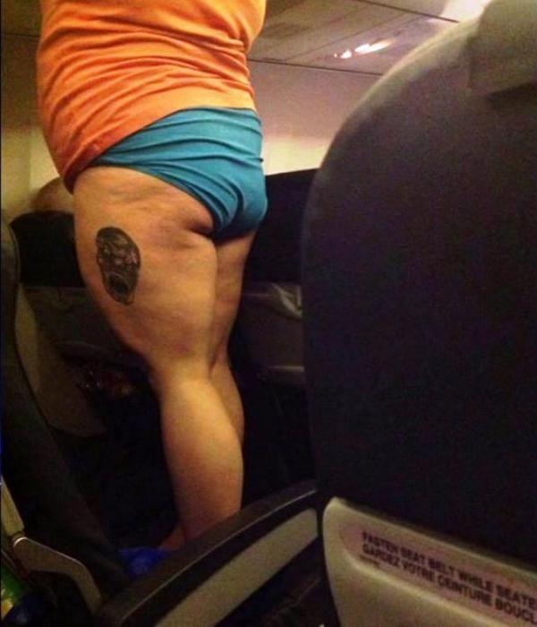 gente con la que no te quieres encontrar en un avion 27