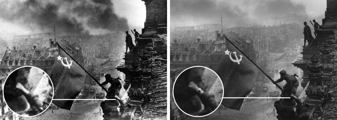 las fotografias historicas retocadas cuando no existia el photoshop 24
