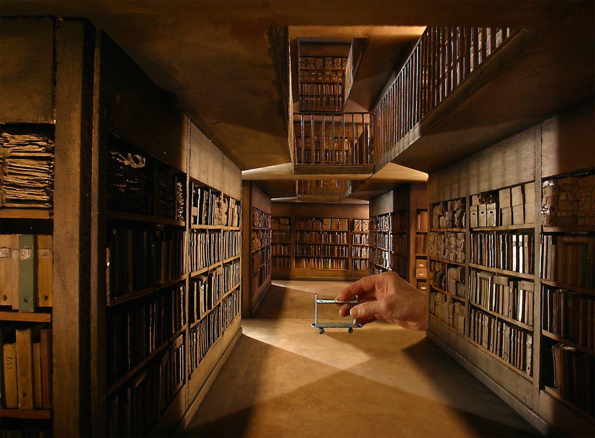 las maquetas miniaturas a escala mas perfectas del museo frances del cine y la miniatura 12