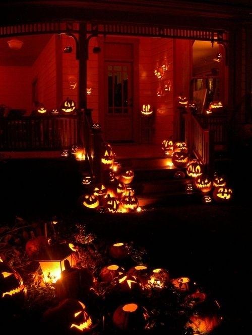 las mejores decoraciones de casas para halloween 14