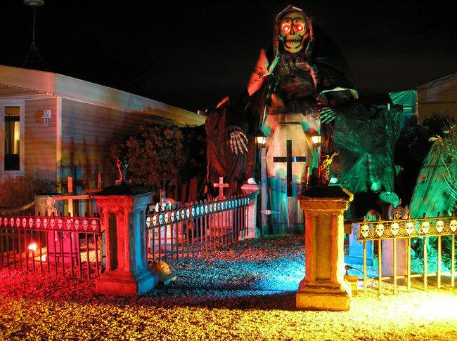 las mejores decoraciones de casas para halloween 2
