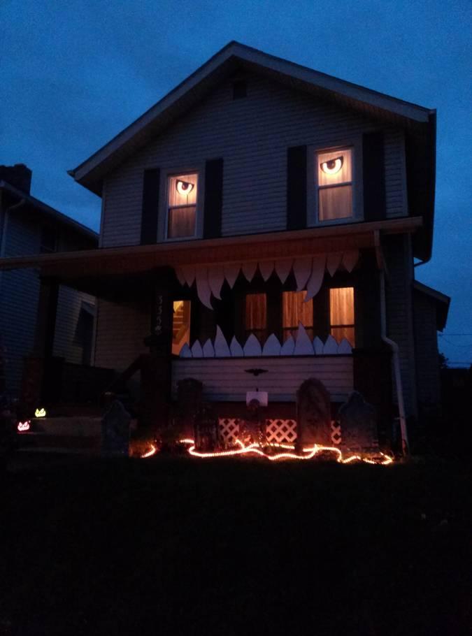 las mejores decoraciones de casas para halloween 4