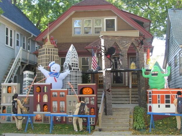 las mejores decoraciones de casas para halloween 9
