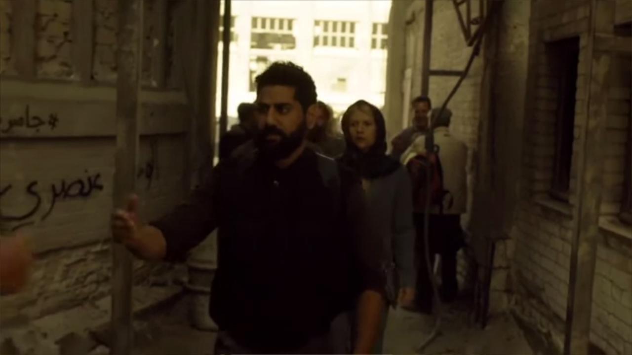 los artistas callejeros grafiteros arabes boictean homeland desde dentro 14