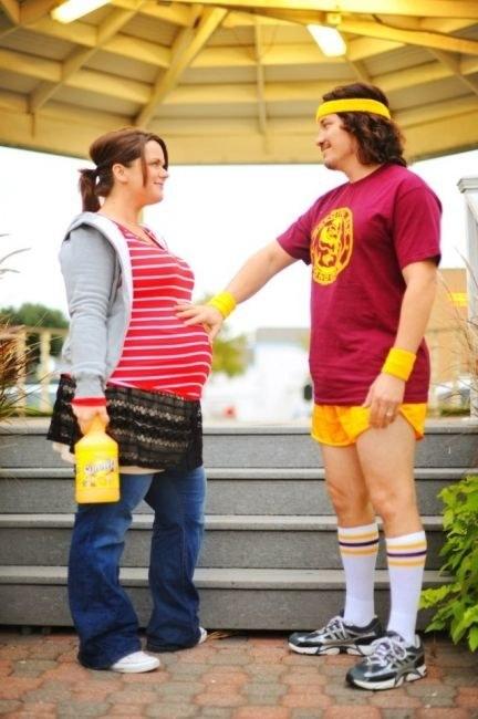 los mejores disfraces de halloween para embarazadas 11
