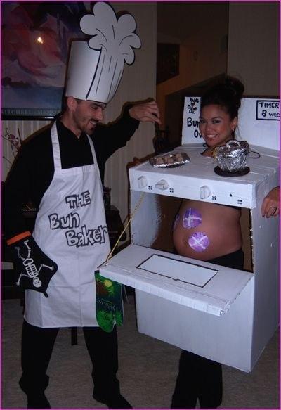 los mejores disfraces de halloween para embarazadas 12