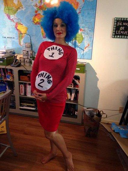 los mejores disfraces de halloween para embarazadas 15