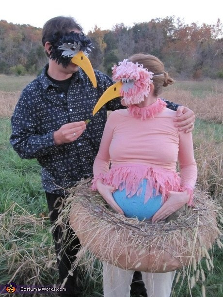 los mejores disfraces de halloween para embarazadas 19