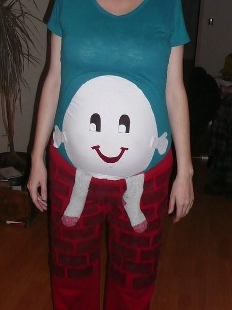 los mejores disfraces de halloween para embarazadas 24