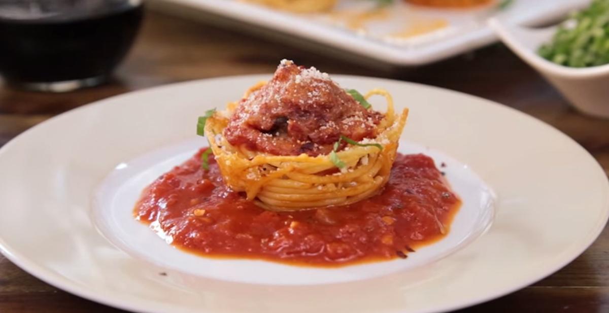 Así de bonito os va a quedar este delicioso plato