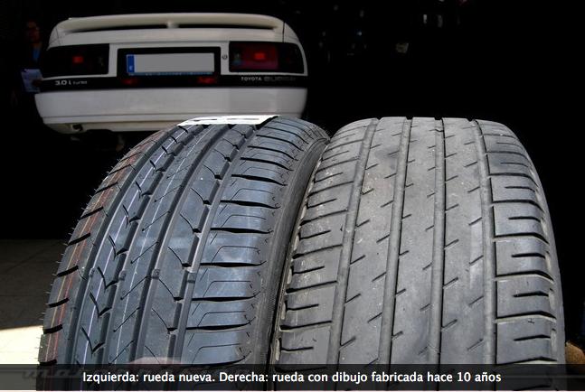 ruedas de coche viejas 1