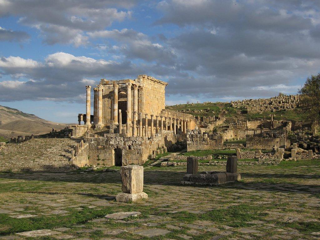 Roman city, Djemila
