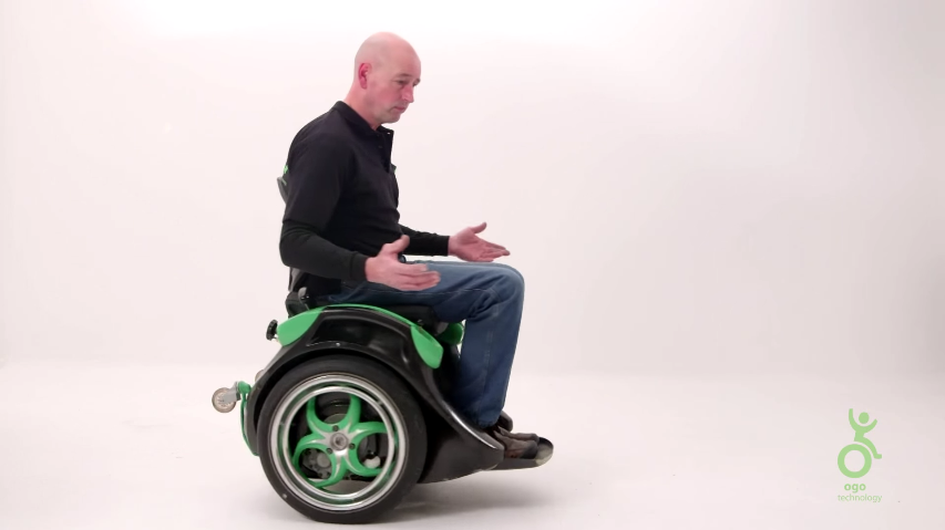 silla de ruedas electrica ogo bastada en un segway2