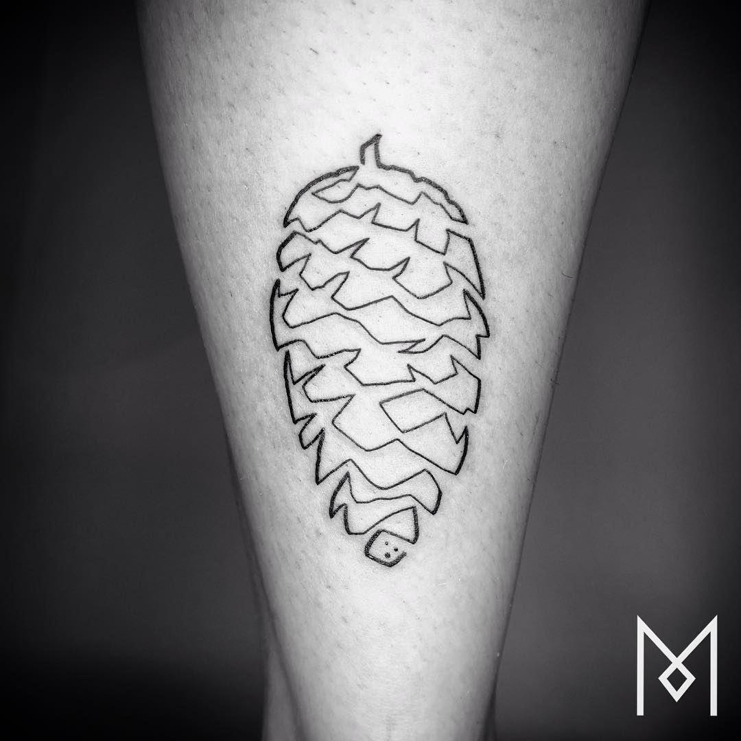 tatuajes de una linea 13