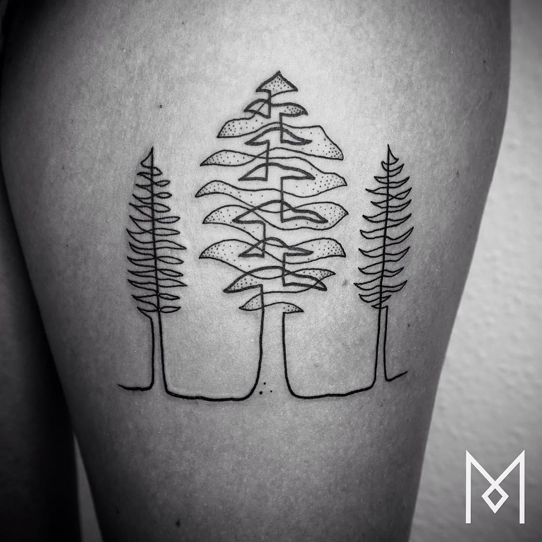 tatuajes de una linea 16