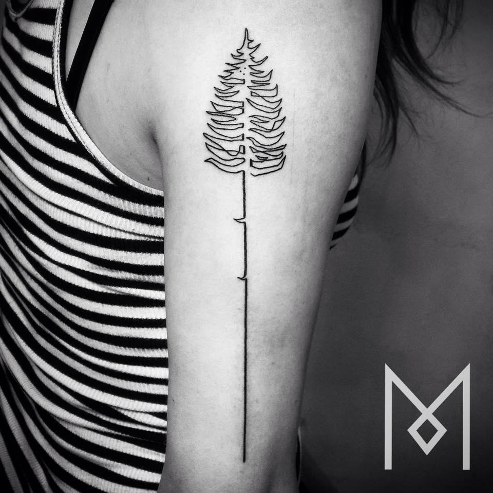 tatuajes de una linea 2