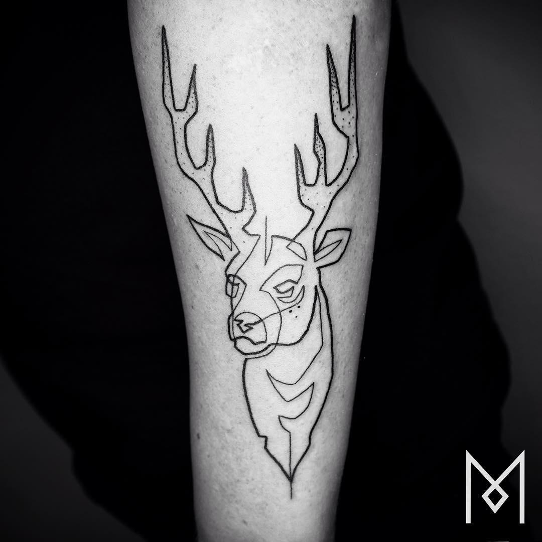 tatuajes de una linea 3