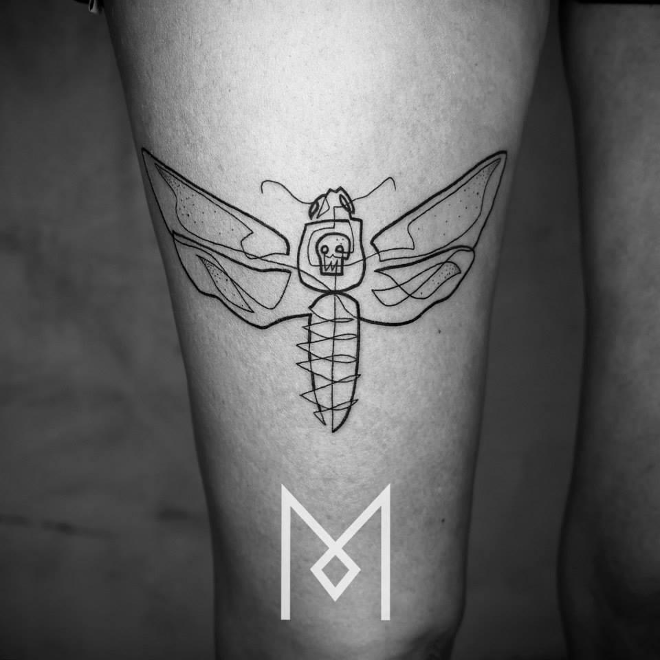 tatuajes de una linea 7