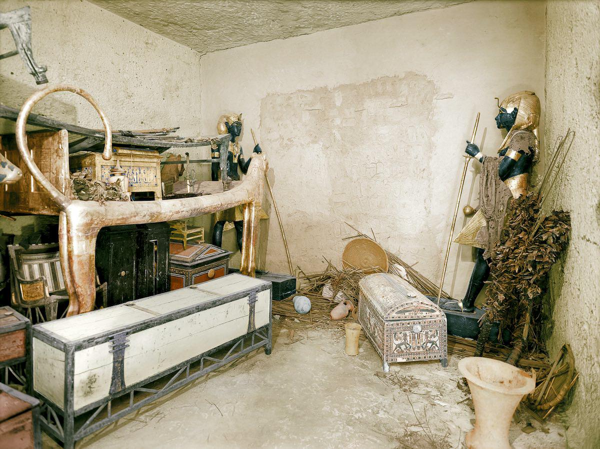 21 impresionantes fotografías de la tumba de Tutankamón