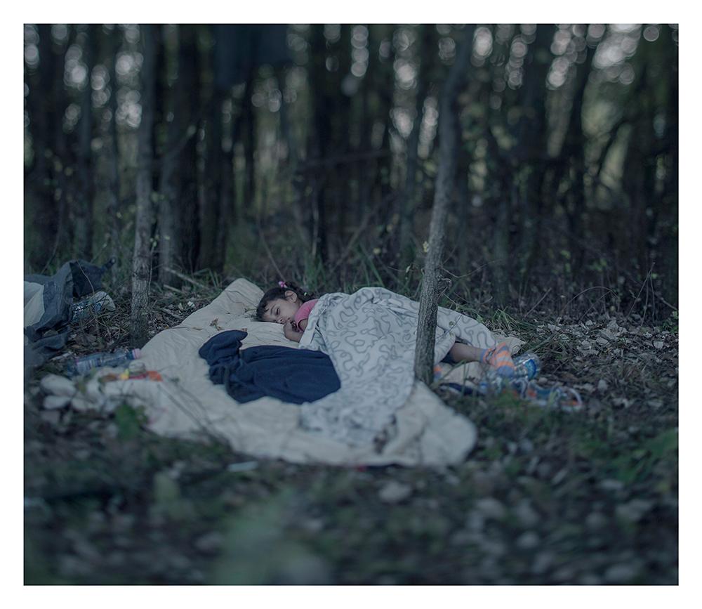 donde duermen los niños refugiados sirios 1
