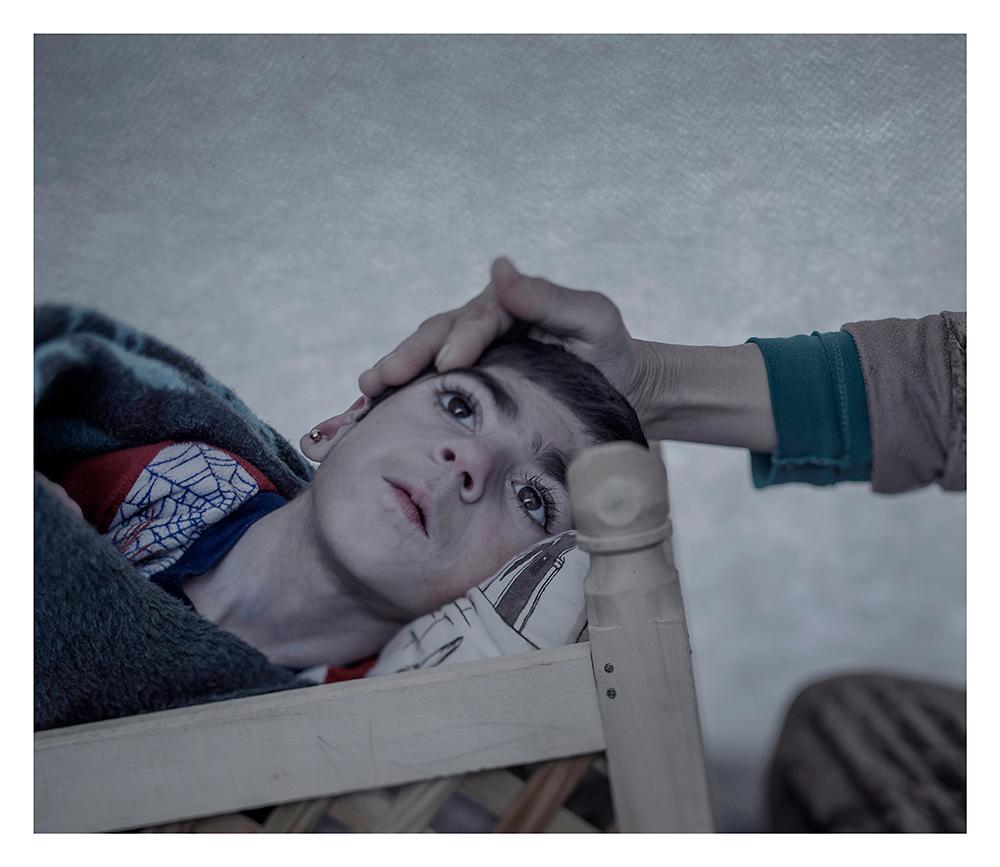 donde duermen los niños refugiados sirios 10