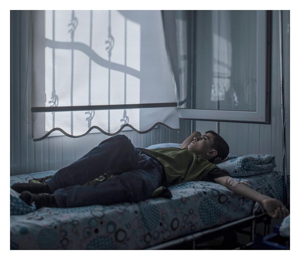 donde duermen los niños refugiados sirios 11