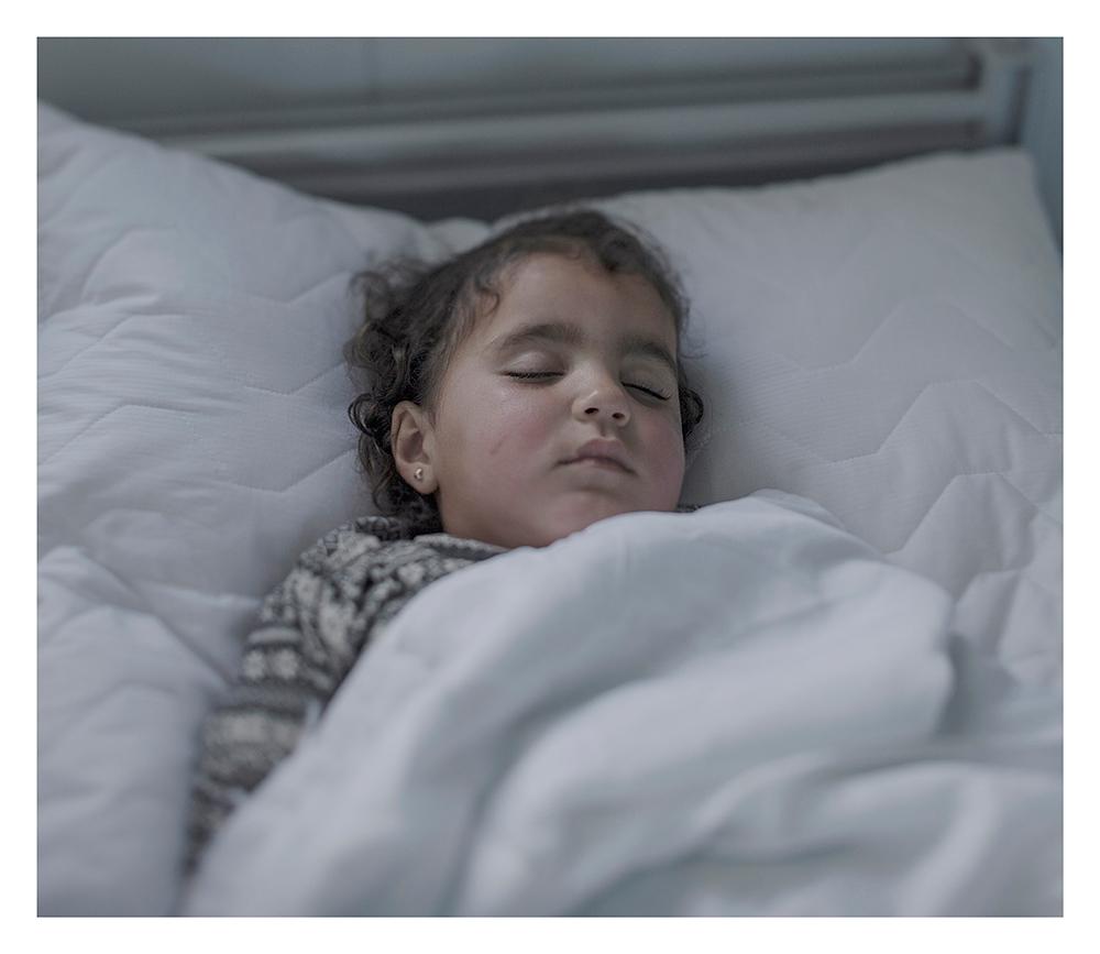 donde duermen los niños refugiados sirios 12