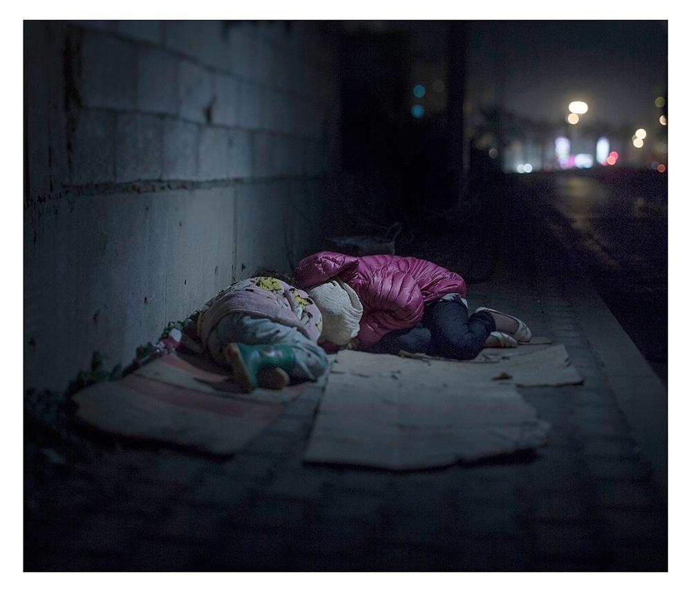 donde duermen los niños refugiados sirios 17