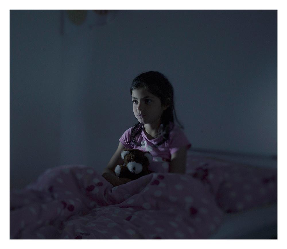 donde duermen los niños refugiados sirios 22