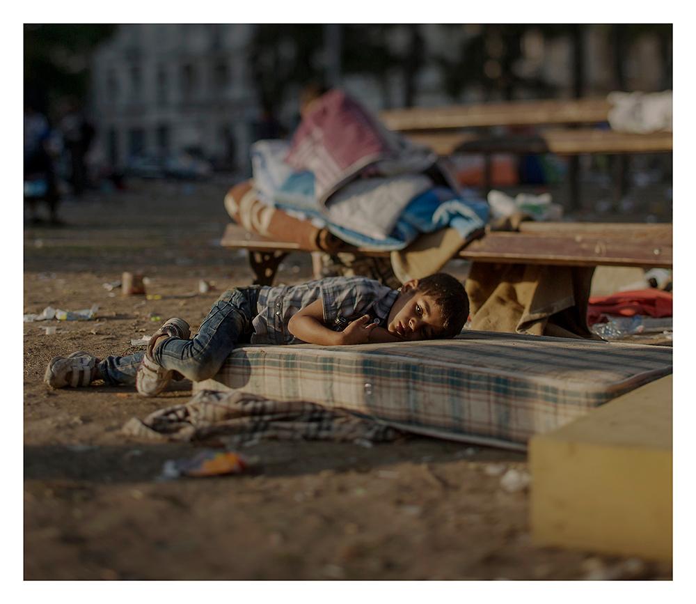 donde duermen los niños refugiados sirios 7