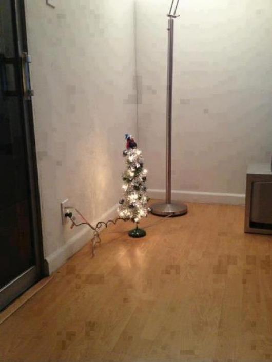 el árbol de navidad de los racanos