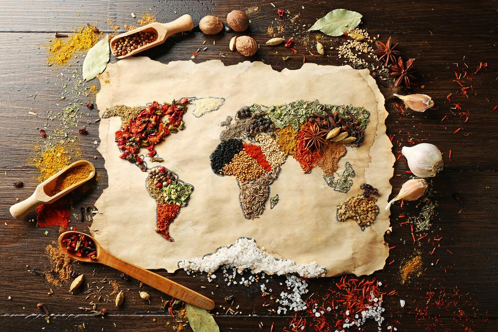 el mundo en cocina