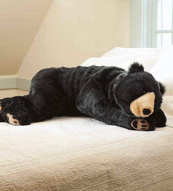 el saco de dormir con forma de oso de eiko ishizawa 2