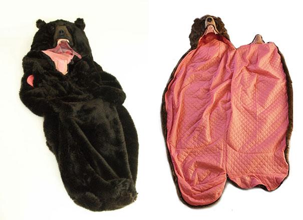 el saco de dormir con forma de oso de Heiko Nishizawa 4