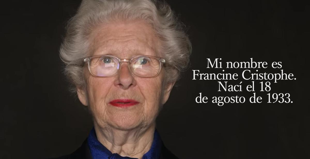 la historia de Francine cristophe y el holocausto