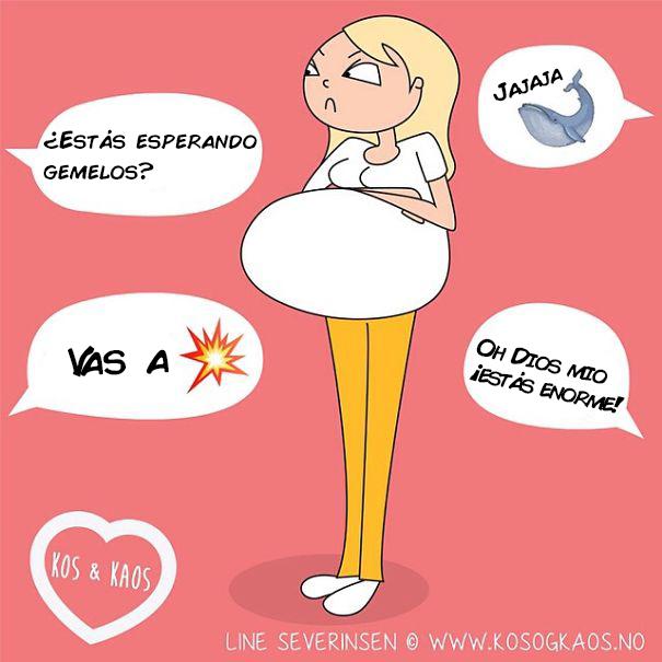 los problemas de una madre embarazada 4