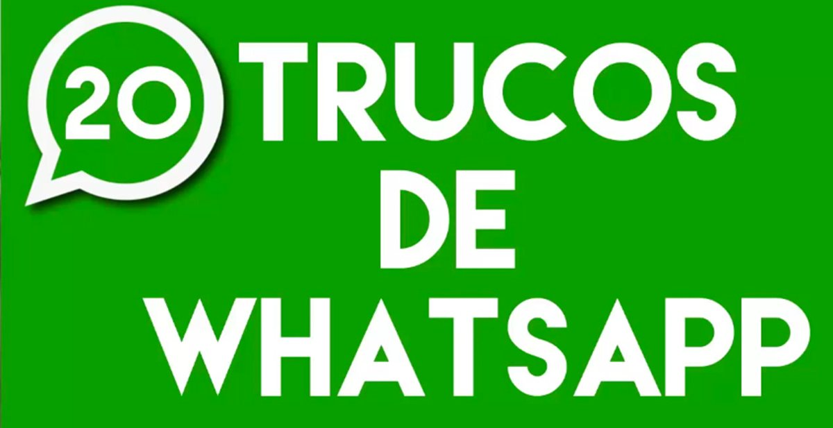 20 trucos de whatsapp