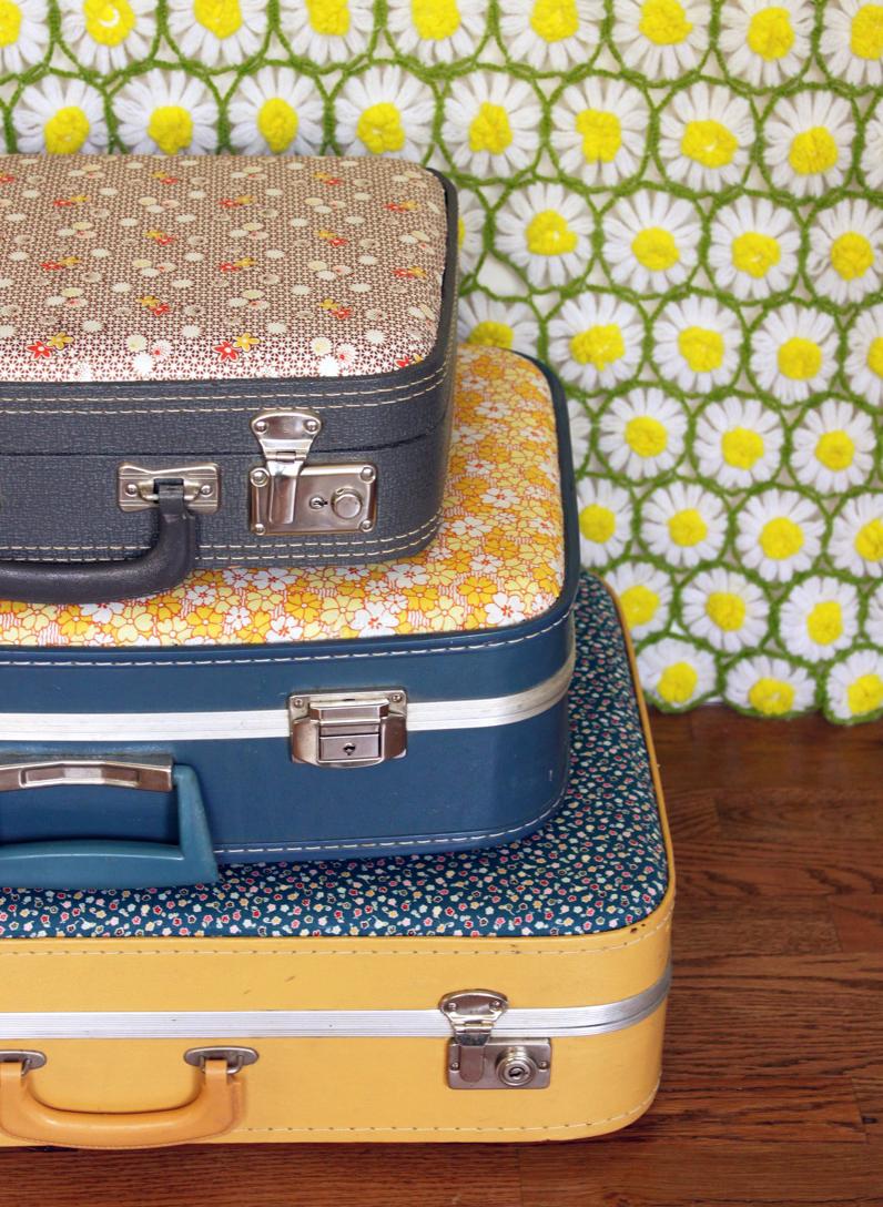 25 maneras de buscar una nueva vida a tus viejas maletas 11